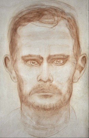 Jesse James portrait sketch