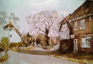 Blewbury Village, Oxfordshire