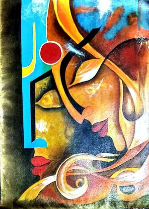 Radha krishna composition