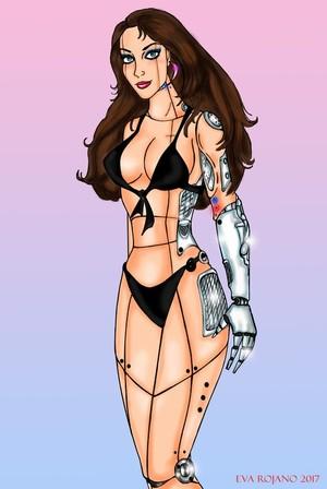 Bikini Cyber girl