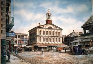 Boston: Faneuil Hall ca. 1912