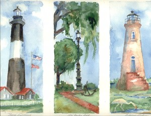 Savannah Lighthouses