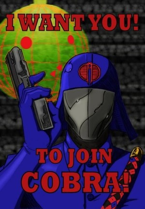 Cobra Commander Wants You!