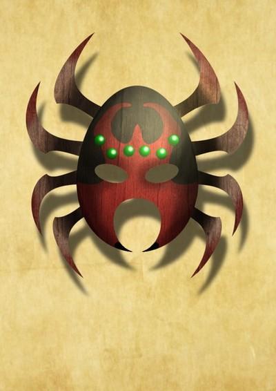 Anansi Mask