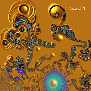 Golden Swirls