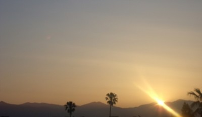 June sunrise