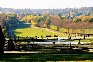 A LARGER VIEW OF THE GARDENS IN AUTUMN..