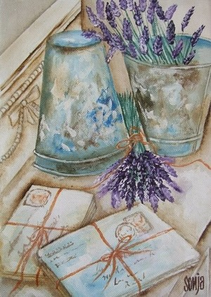 Lavender and letters