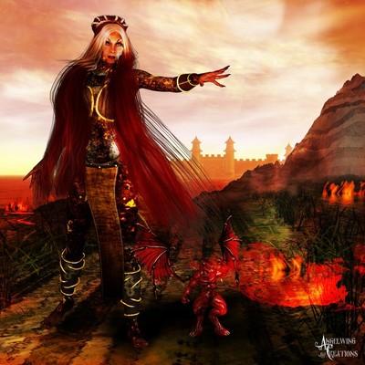 Isadora, the Lava Queen