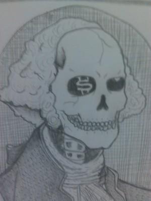 skull presadent