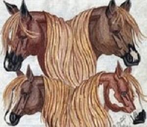 Quarter Horse Quartet