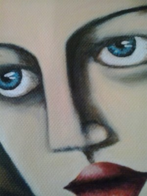 Tribute to Tamara de Lempicka