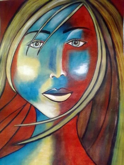 Cosmic Beauty- Original Water Color Painting