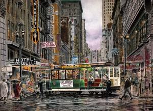 Turn Around Time:San Francisco ca. 1945
