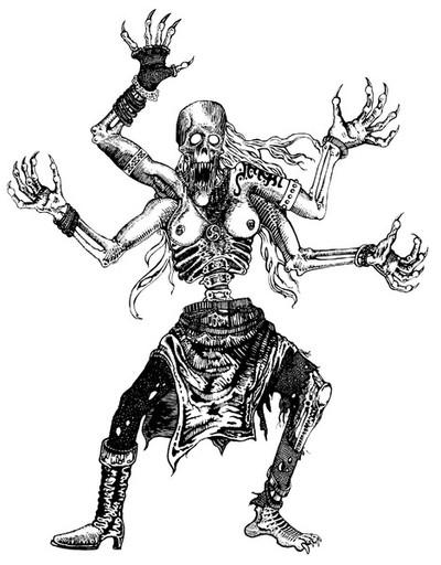 Dancing zombie