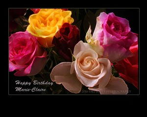 Hapy Birthday Marie-Claire