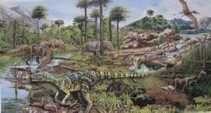 Dinosaurs Hickman Science Bldg SAU