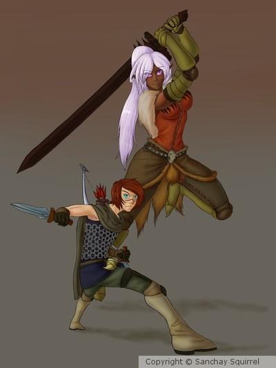 Dragon's Dogma - Emile and Grayson