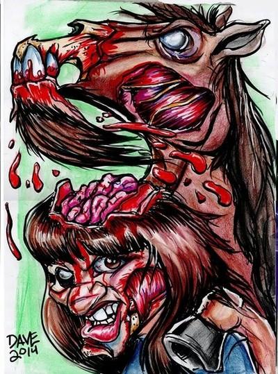 Zombie Caricature