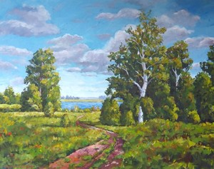 Lakeside Landscape 2