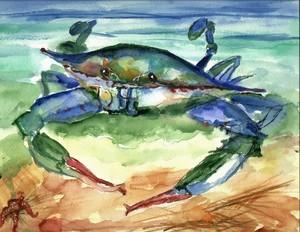 Tybee blue crab