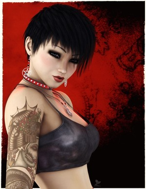 Goth Girl Maggie