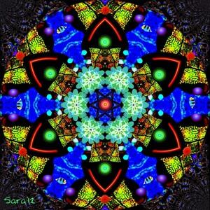 Evolving Mandala