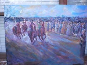 colonial horse race