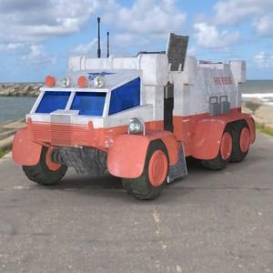 Sci-Fi Truck Red