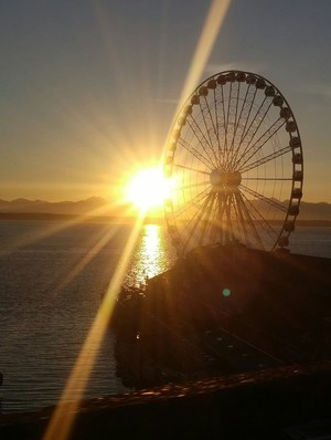 Sun and the Great Wheel