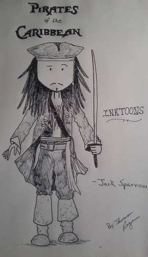 INKTOONS of Jack Sparrow