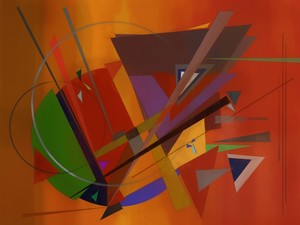 Abstract composition 73