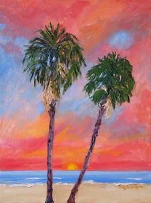 Tybee Twin Palms