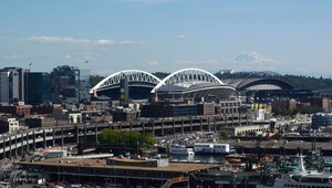 View from the Great Wheel of Seattle