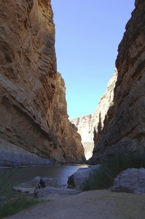 Santa Elena Canyon Reflection