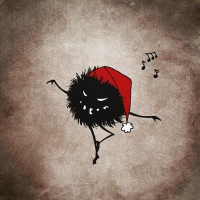 Dark Evil Christmas Bug