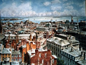 Boston: East From the State House ca. 1875