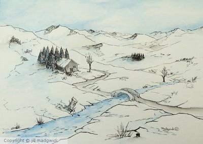 The winter retreat
