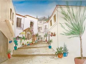 A corner of Estepona, Spain