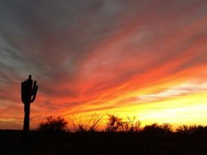 Superstition Sunset