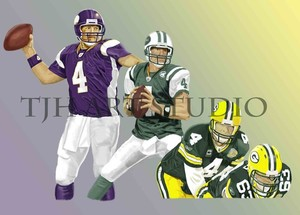 Bret Favre Three in one Player