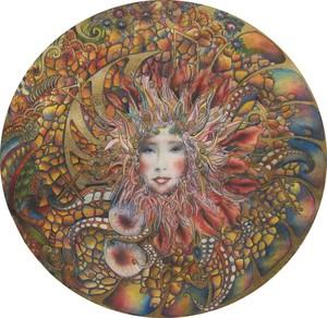 Aphrodisiac mandala for men, for harmony in the