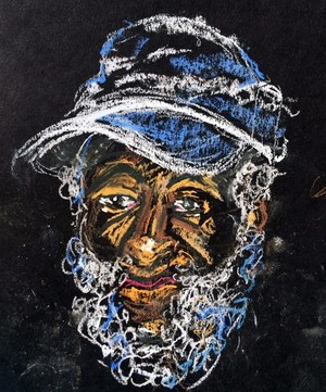 Dick Gregory Drawing