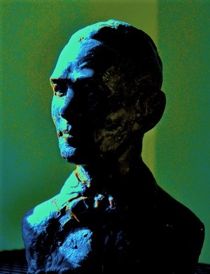 Jesse James sculpture