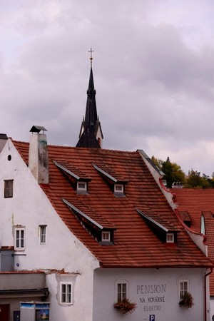 Roofs Of Cesky Krumlov - 2