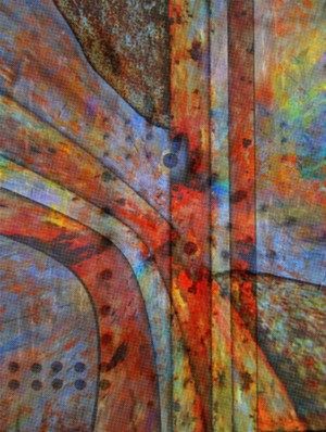 Abstract composition 76