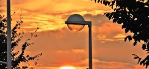 SUNSET IN MY STREET ..
