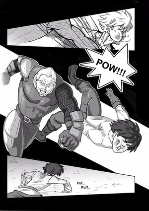 My comic book, page 1.
