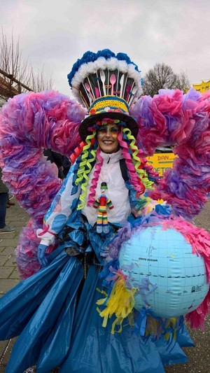 The fight between carnival and lent