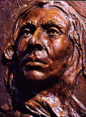 Sitting Bull as a Young Warrior